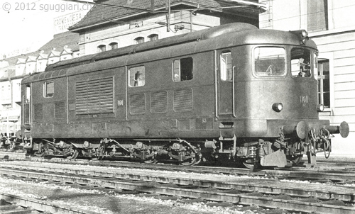 FFS Am 4/6 1101 - Locomotiva a turbina a gas