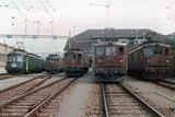 Be 4/4 762, Re 4/4 181, Ae 6/8 205, Ae 8/8 274 e 272