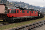 sguggiari.ch - FFS Re 6/6 11602 'Morges' alle Officine di Bellinzona