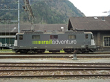 RailAdventure Re 421 383-1 a Erstfeld
