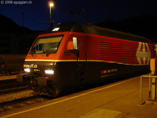 sguggiari.ch - FFS Re 460 016-9 New look a Bellinzona