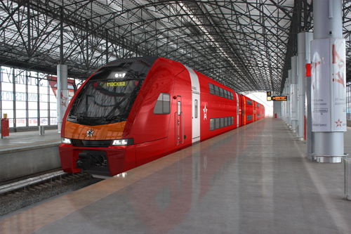 Stadler KISS Aeroexpress
