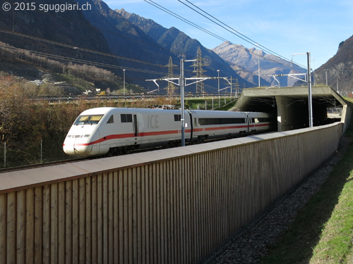 Tunnel di base del Gottardo: test con ICE-S