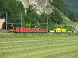 FFS Re 420 284-2, Re 4/4 II 11278 'Cham' e Re 6/6 11657 'Estavayer-le-Lac'