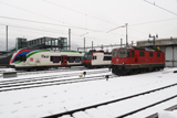 TILO RABe 524 012, FFS RBDe 560 'Domino' e Re 4/4 II 11127
