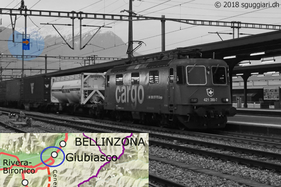 ETCS Level 2 a Giubiasco